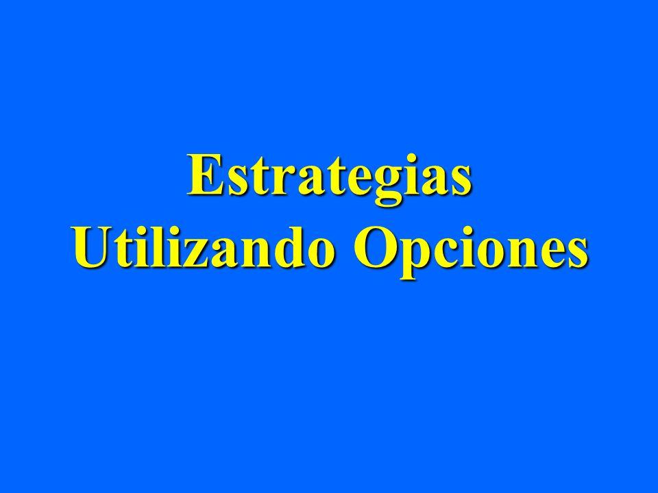 Estrategias Utilizando Opciones