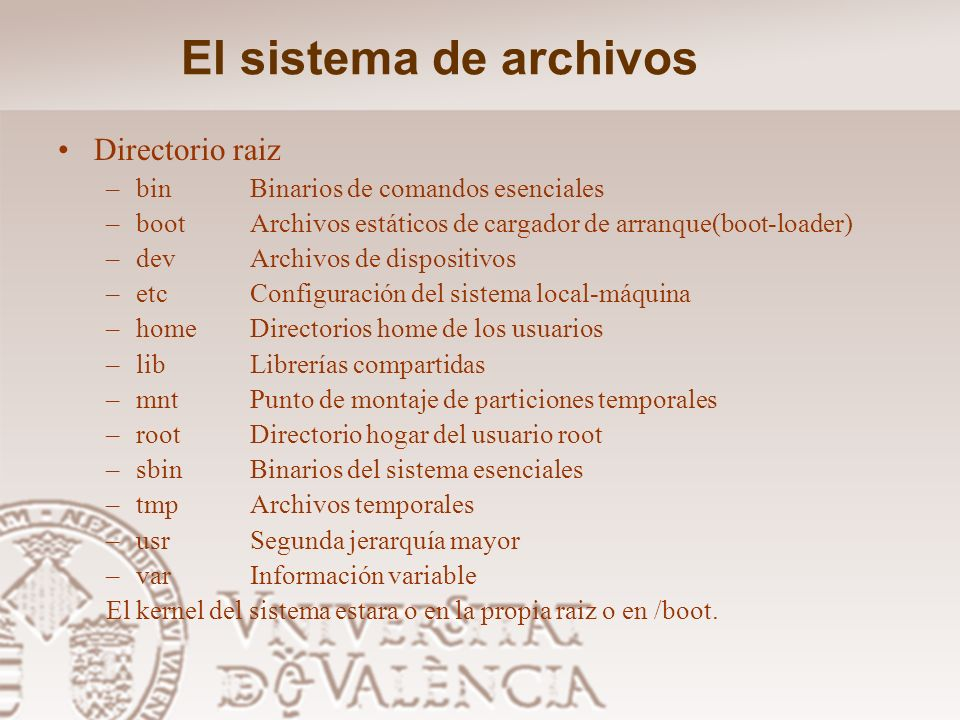 El sistema de archivos FAT, FAT16, FAT32: sistema de archivos de MS-DOS, Windows 95 y Windows 98. Se sigue utilizando por su sencillez y porque es rec