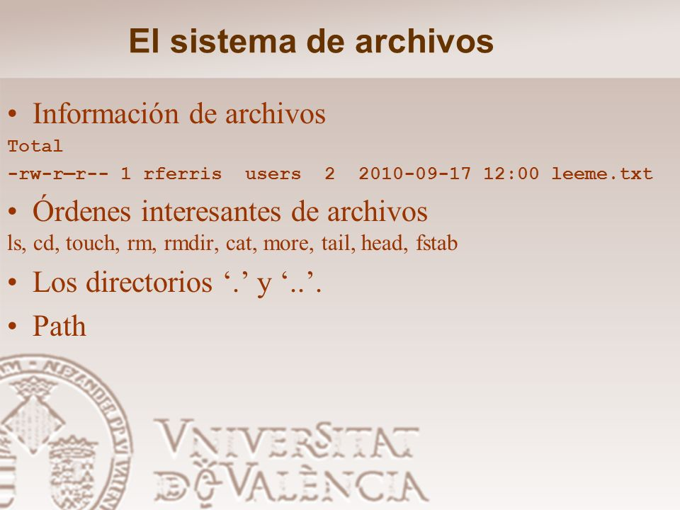 El sistema de archivos /usr X11R6 Sistema X Window Version 11 release 6 X386 Sistema X Windows Version 11 release 5 en plataformas X 86 bin La mayoría