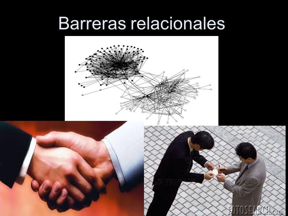 Barreras relacionales