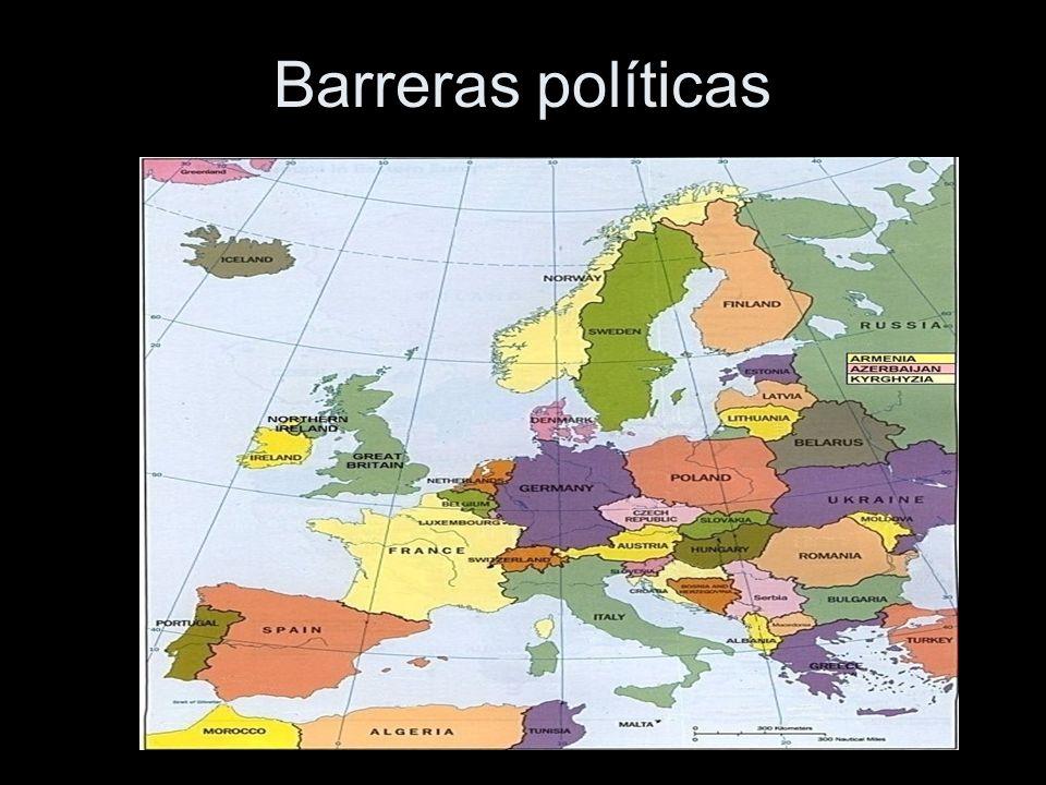 Barreras políticas