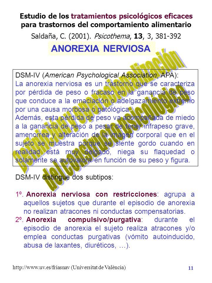 http://www.uv.es/friasnav (Universitat de València) 10 Necesidad de Conocimiento Hipótesis de Investigación Planificación de la Investigación Método A