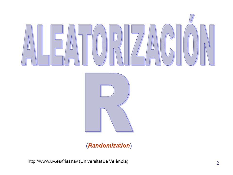 http://www.uv.es/friasnav (Universitat de València) 3 Toda investigación debe ser bien diseñada, eficientemente ejecutada, correctamente analizada, claramente presentada y correctamente interpretada 1.