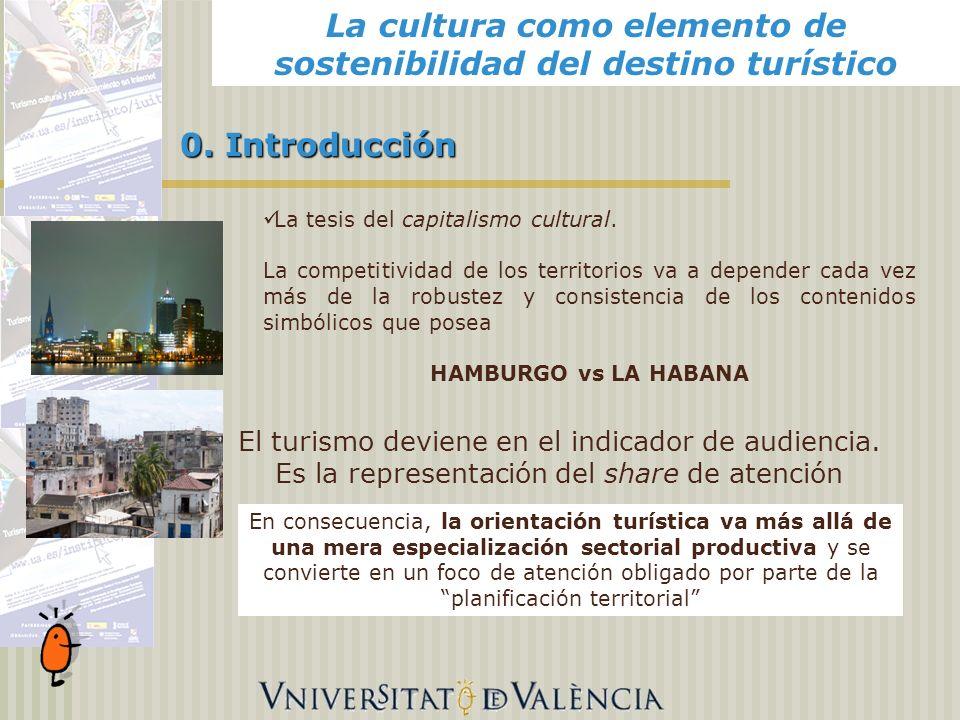 Alicante, 0. Introducción El turismo deviene en el indicador de audiencia.