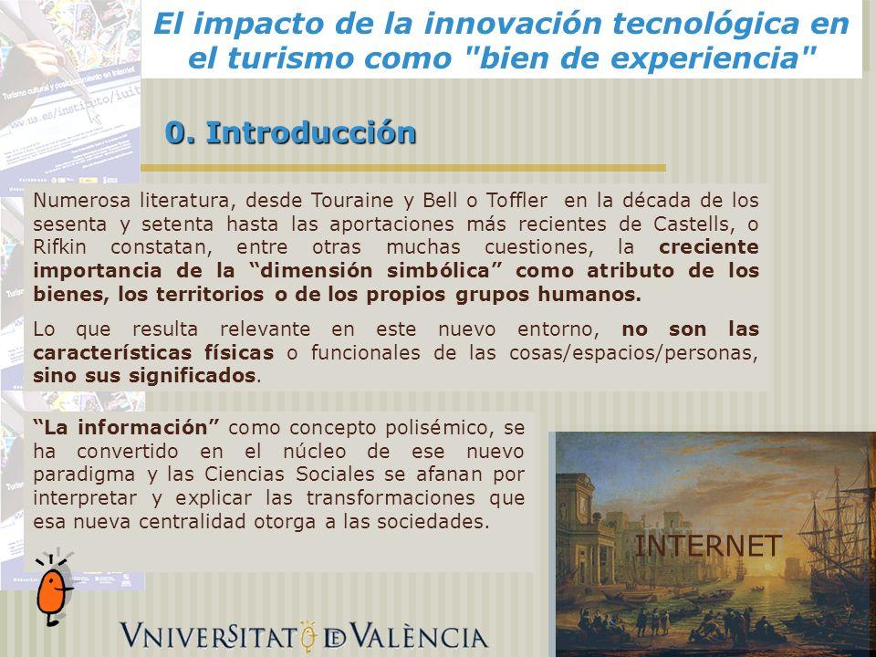 El impacto de la innovación tecnológica en el turismo como bien de experiencia Alicante, 0.