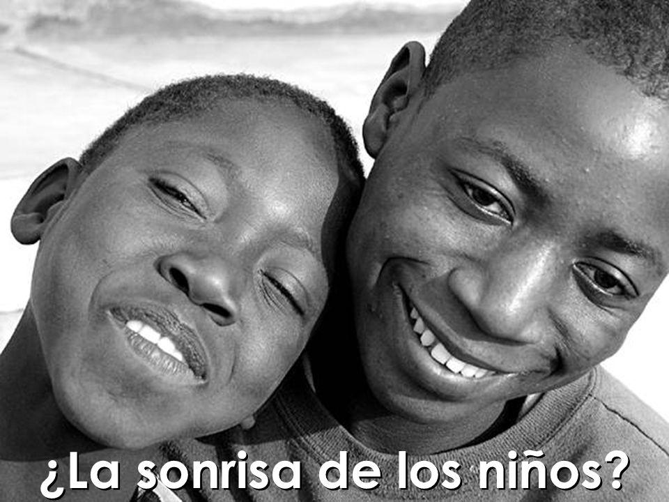 ¿Quién no necesita la sonrisa de un niño