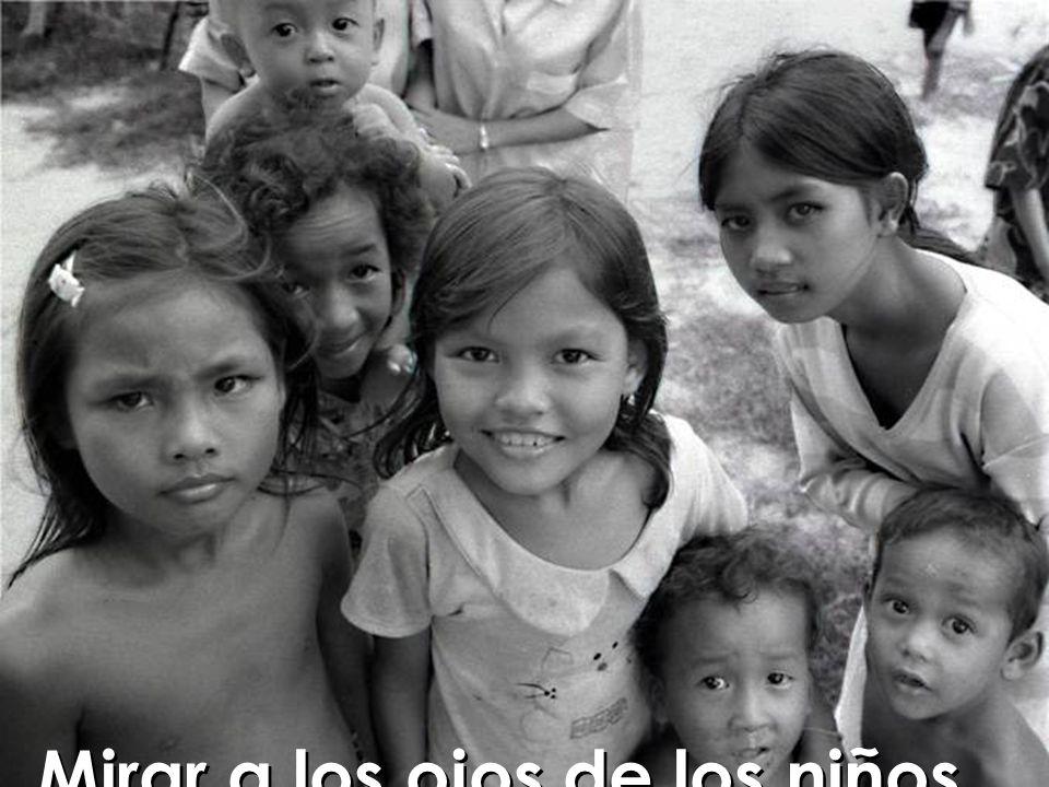 Mirar a los ojos de los niños