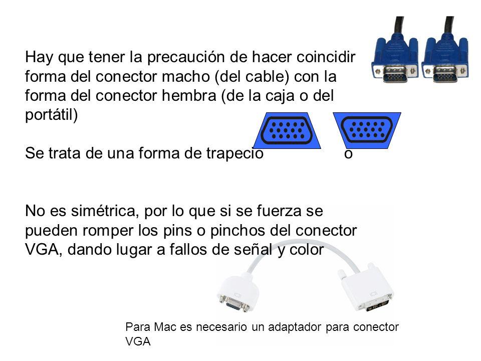 OTRAS FUNCIONES – Pizarra digital interactiva > 2 entradas USB (tipo B) para comunicar la pizarra digital con el portátil (si tiene instalado el software de Smart) (se selecciona con el mismo conmutador que el de VGA, ver abajo) > Selector de VGA (entrada PC1, PC2) y de USB (entrada 1,2) [ Nota: se necesita un cable USB corto (entre 1-180 m) del tipo A-B: conectores cuadrado y el típico fino de USB ] Tipo A Tipo B Cable USB Tipo A-B