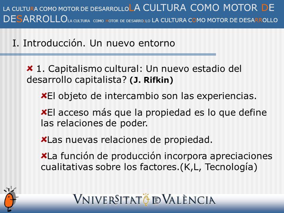 IV.El impacto económico del sector del ocio y la cultura 1.