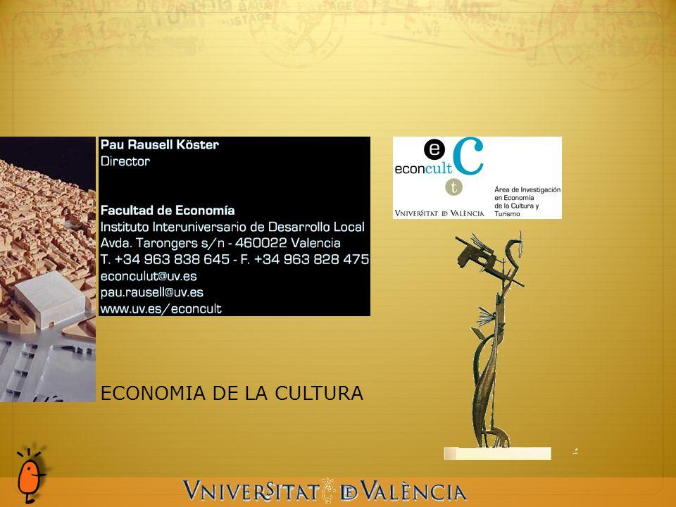 POLÍTICA CULTURAL (Como mecanismo de regulación del mercado ESPACIO FAMILIAR Y INDIVIDUAL ESPACIO SOCIAL MERCADO ESPACIO PUBLICO La política cultural condiciona en mayor o menor medida la composición del origen de nuestras experiencias culturales MERCADO ESPACIO SOCIAL ESPACIO PUBLICO Politica cultural El « buonismo » esconde el alt grado de ineficacia, ineficiencia y de la injuSticia de las políticas culturales ESPACIO FAMILIAR Y INDIVIDUAL