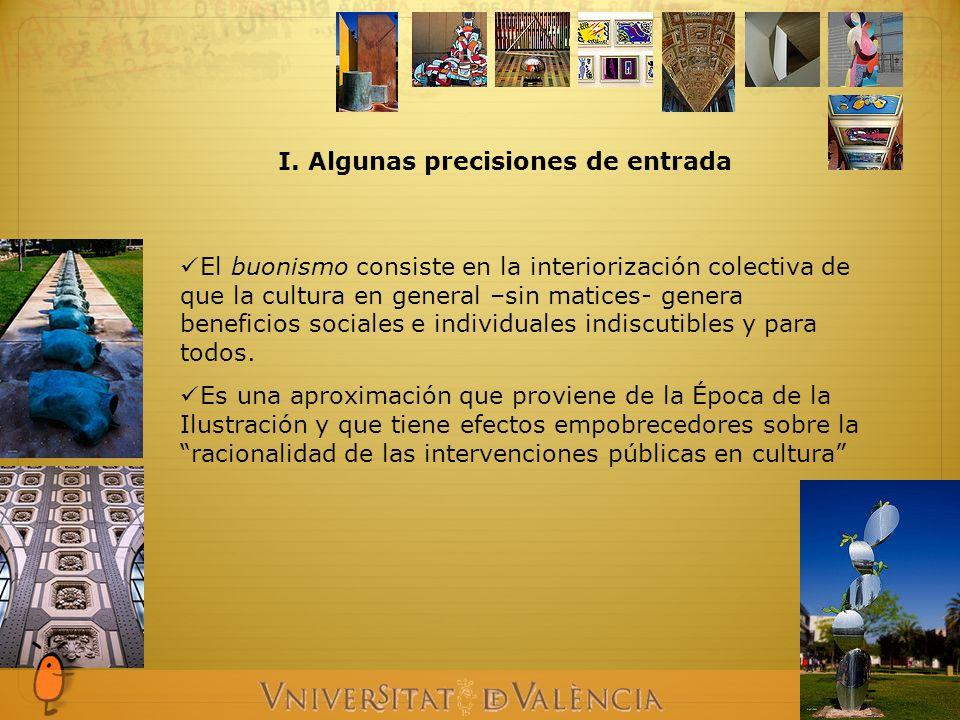 I.Algunas precisiones de entrada El buonismo en la Cultura - El buonismo ¿Qué es?.
