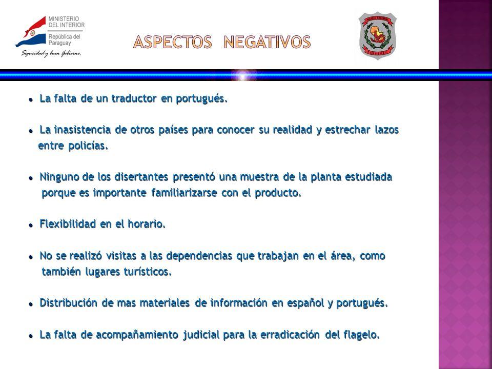 La falta de un traductor en portugués. La falta de un traductor en portugués.