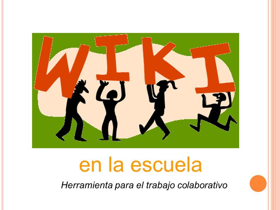 Wikis. Usos en el aula Viajes y Experiencias Quinto en la Red Síntesis del tema Enlaces Desarrollo