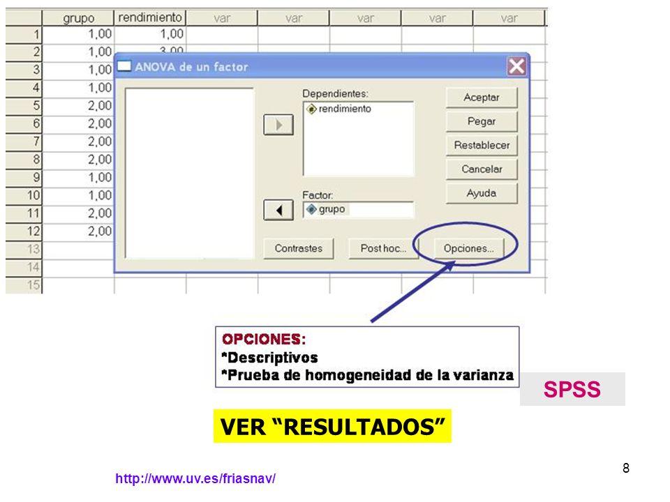 http://www.uv.es/friasnav/ 8 SPSS VER RESULTADOS