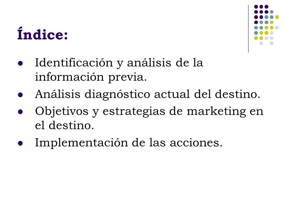 Identificación y análisis de la información previa