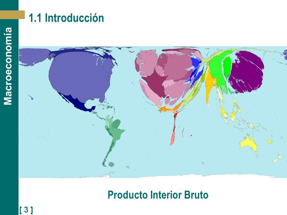 [ 3 ] Macroeconomía 1.1 Introducción Producto Interior Bruto