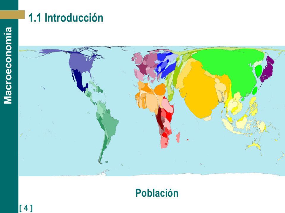 [ 4 ] Macroeconomía 1.1 Introducción Población