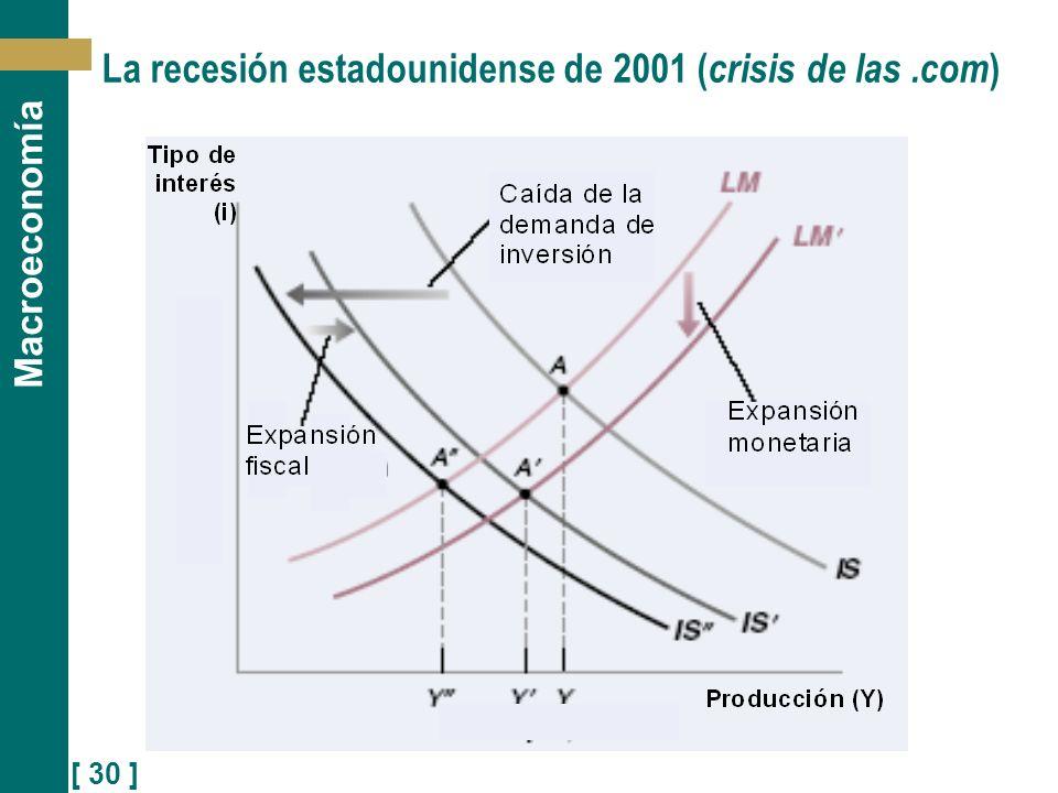 [ 30 ] Macroeconomía La recesión estadounidense de 2001 ( crisis de las.com )