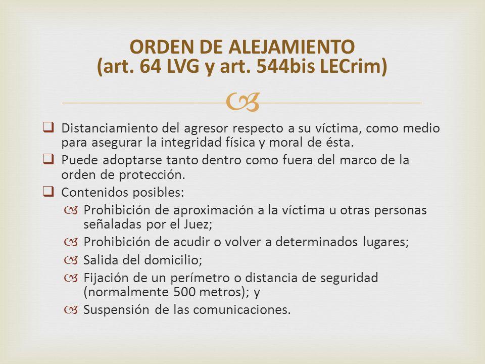 Presupuestos: indicios de la existencia del hecho delictivo + riesgo efectivo para la víctima.