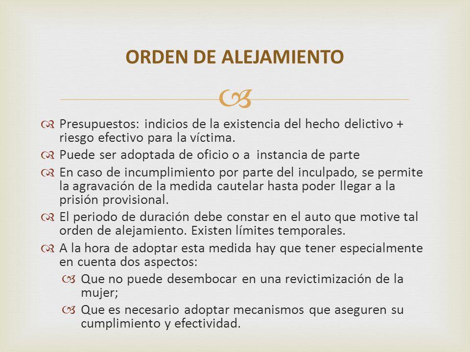 Para garantizar su efectividad (art.64.3 LVG).