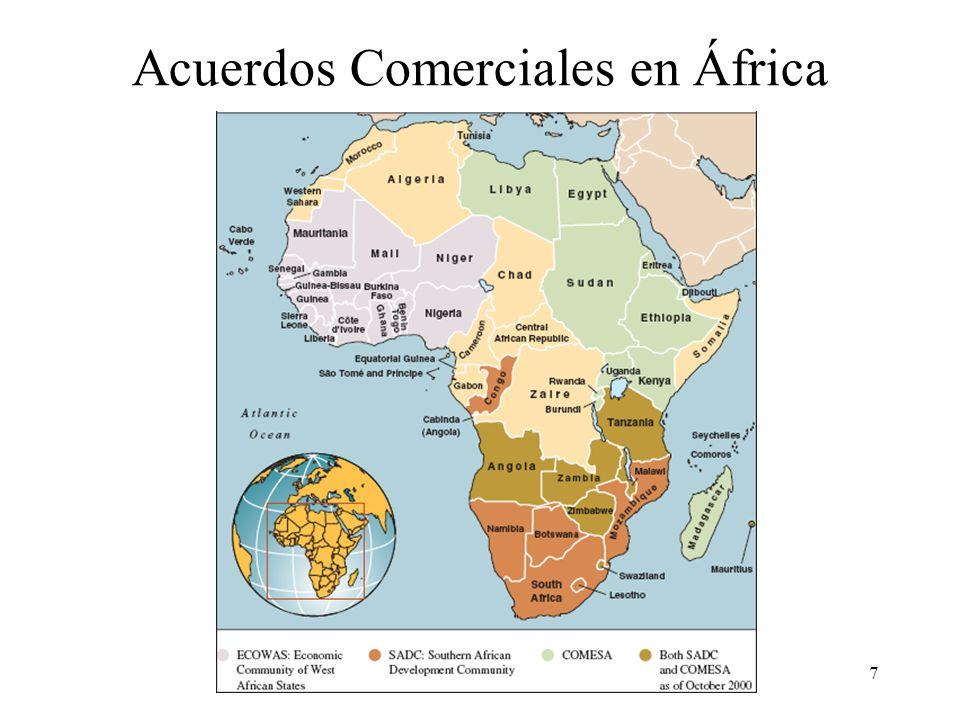 7 Acuerdos Comerciales en África
