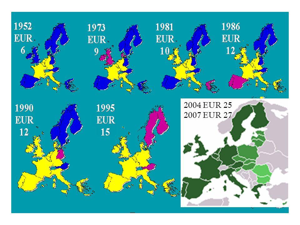3 2004 EUR 25 2007 EUR 27