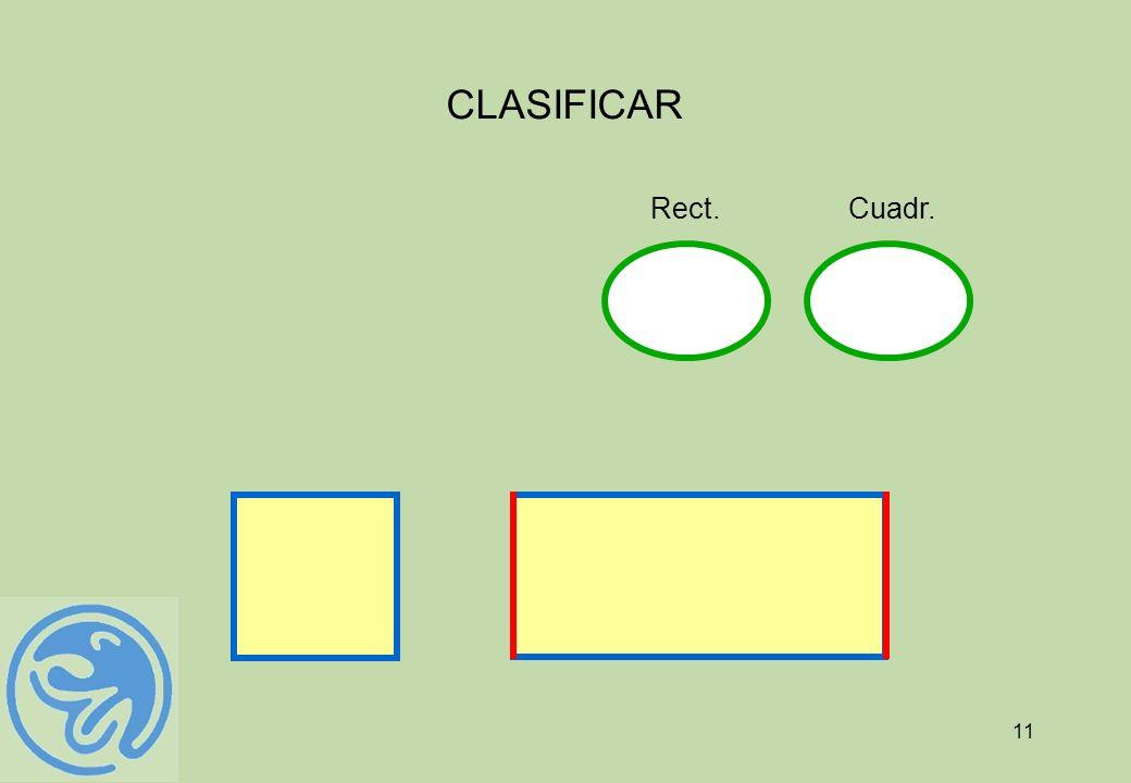 11 CLASIFICAR Cuadr.Rect.