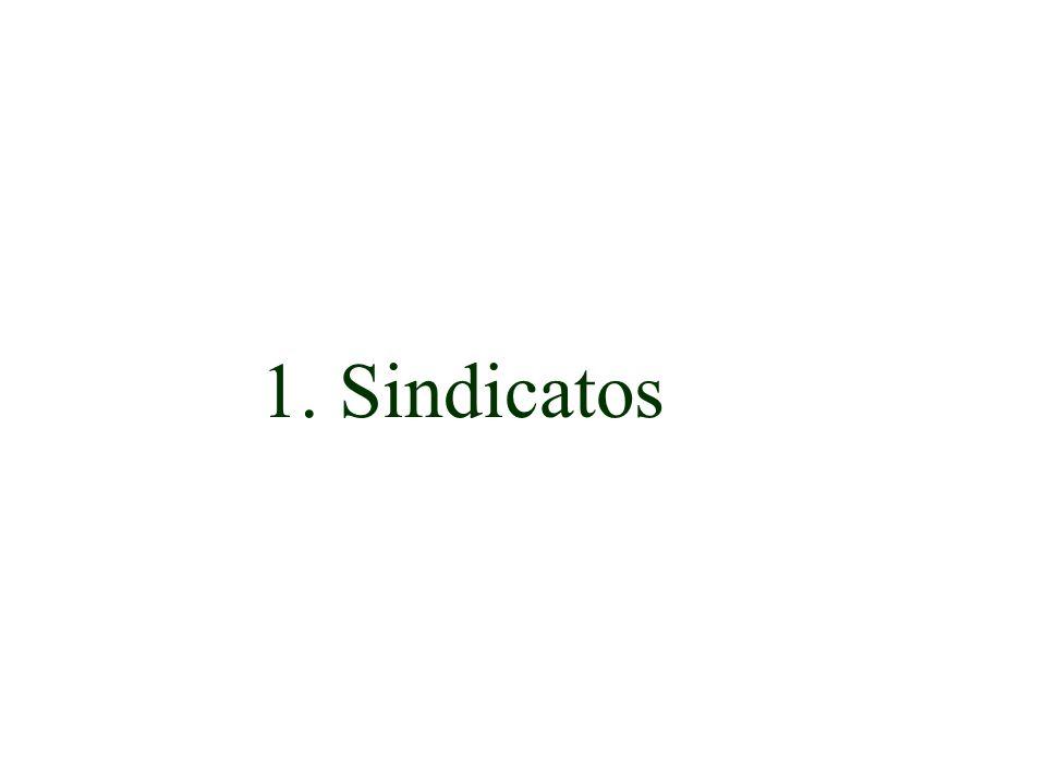 1. Sindicatos