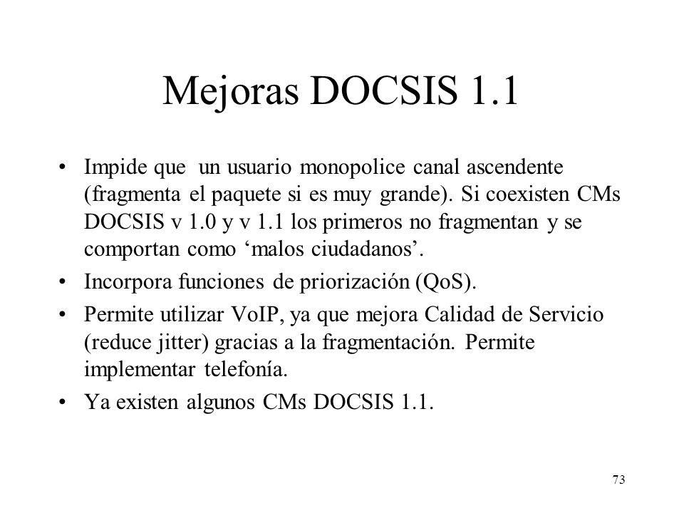 72 MCNS/DOCSIS vs DVB/DAVIC MCNS/DOCSISDVB/DAVIC 3Com Broadcom Cisco Systems Dassault General Instruments Motorola Pace Thomson Alcatel Cocom DivCom H