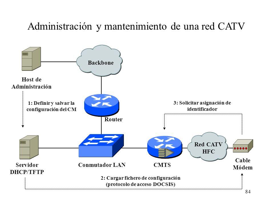 83 Para una seguridad aún mayor el túnel puede hacerse directamente de A a B IPSec (RFC 2410): Encriptación sobre TCP/IP para crear VPNs Túnel IPsec A