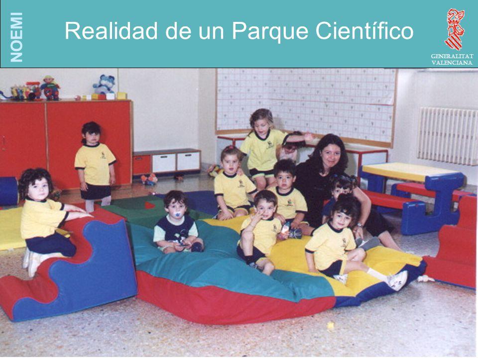 NOEMI Generalitat Valenciana Realidad de un Parque Científico
