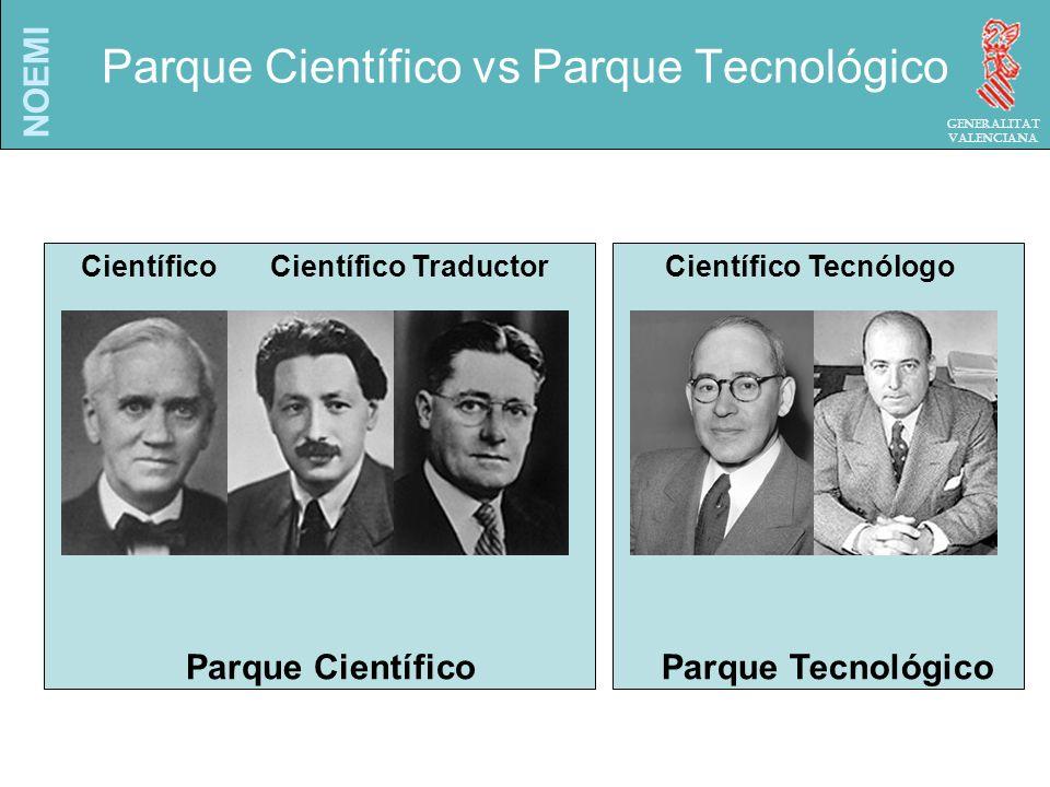NOEMI Generalitat Valenciana El Parque Científico-Tecnológico