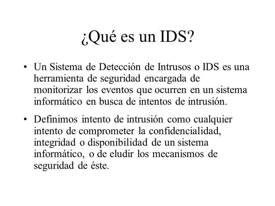¿Qué es un IDS.