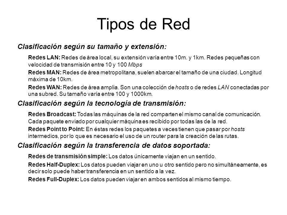 Topología de la Red Topologías LAN más comunes: Token Ring: Topología de bus lógica y en estrella física o en estrella extendida.