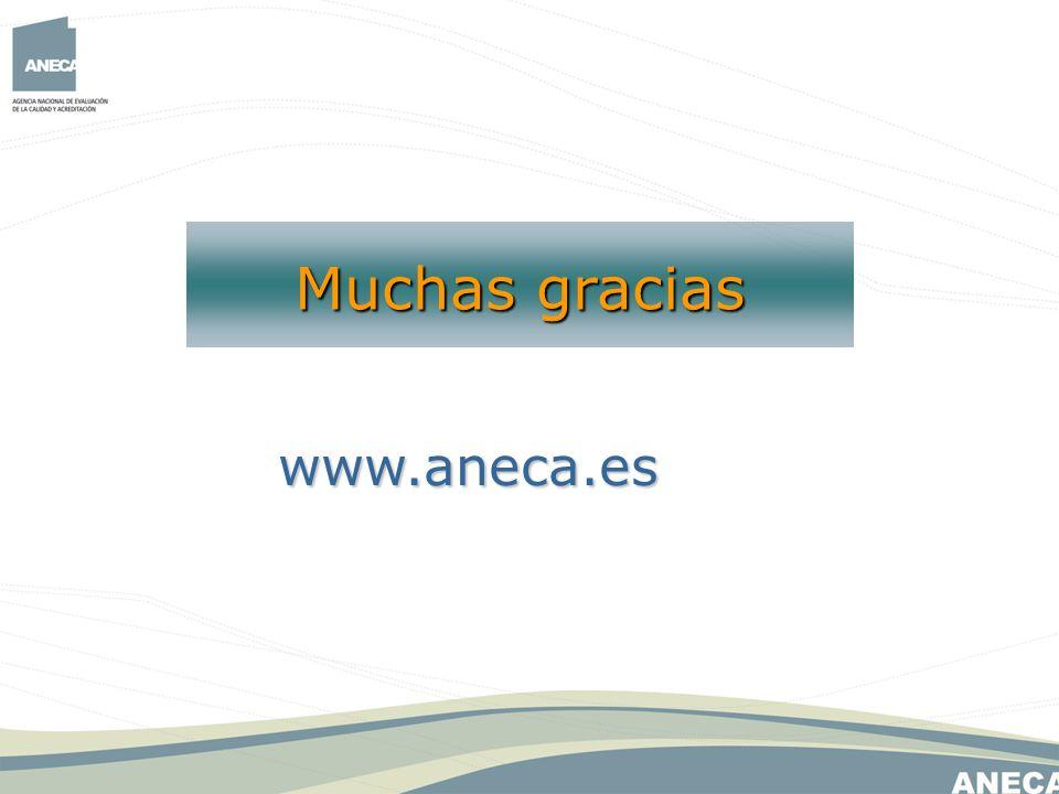 www.aneca.es Muchas gracias