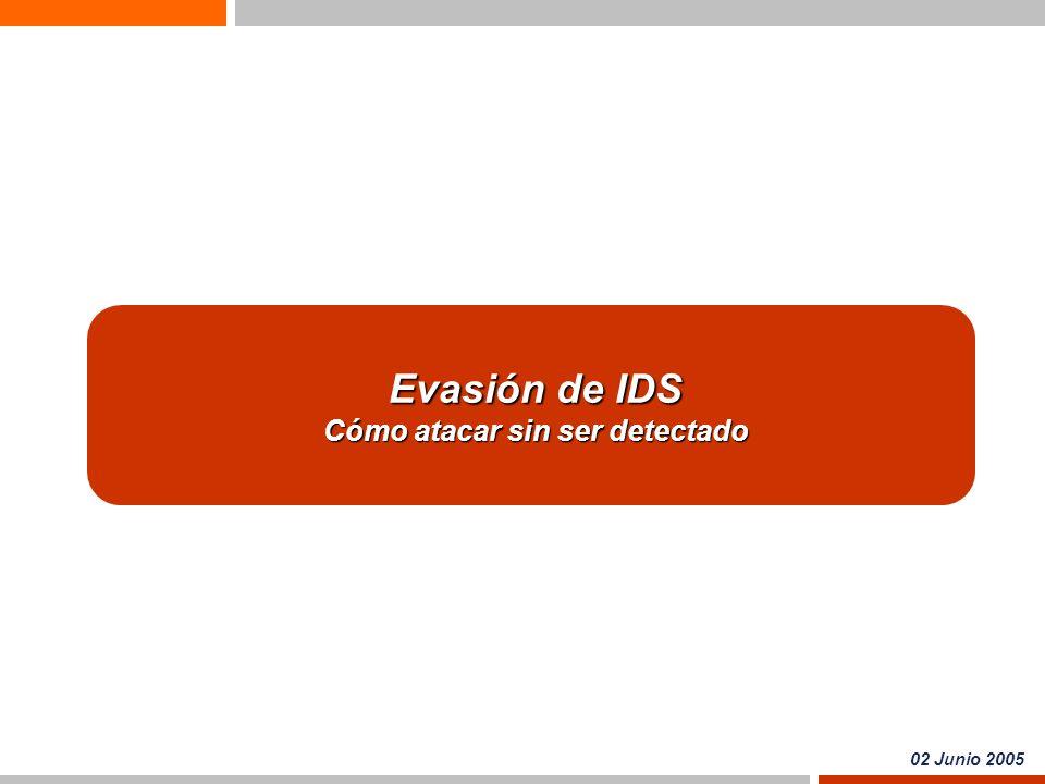 2 Sistemas de Detección de Intrusos ¿Qué es un IDS.