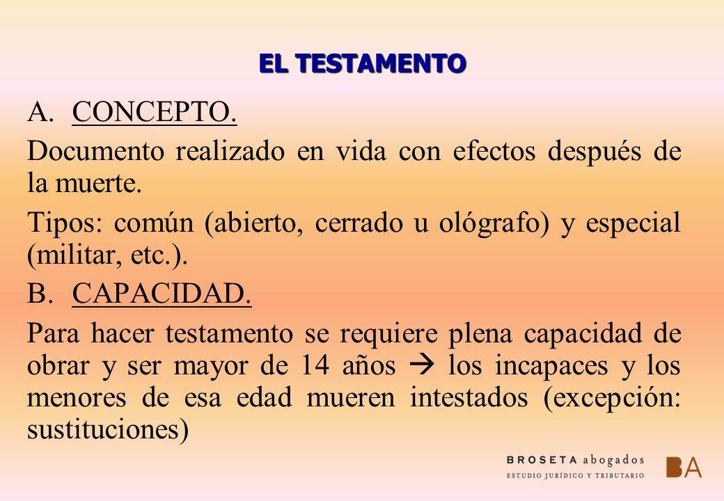 LAS LEGÍTIMAS (I): DEFINICIÓN Y CARACTERES Las legítimas son porcentajes de la herencia reservados por la Ley a determinados herederos.