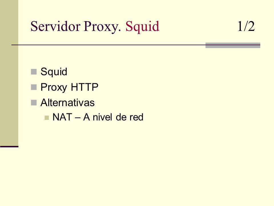 Servidor Proxy.