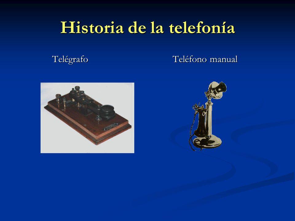 Historia de la telefonía Teléfono automático Primeros móviles