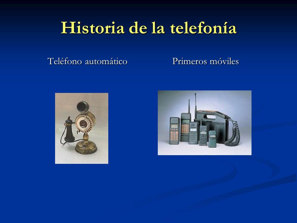 Principios básicos de telefonía móvil Comunicación mediante ondas de radio.