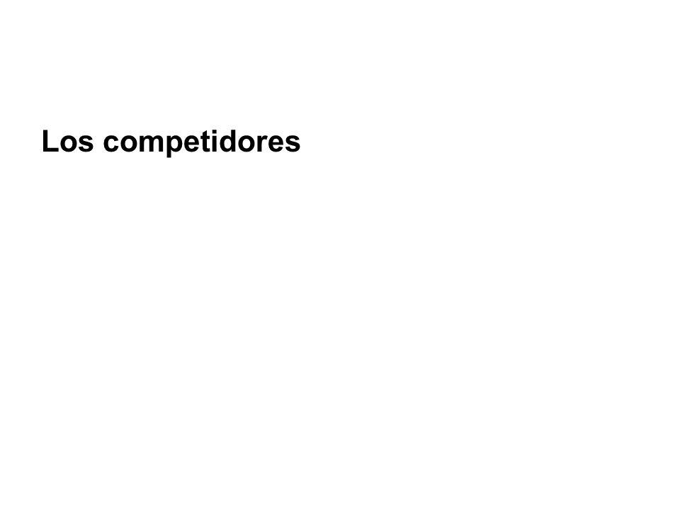 Los competidores
