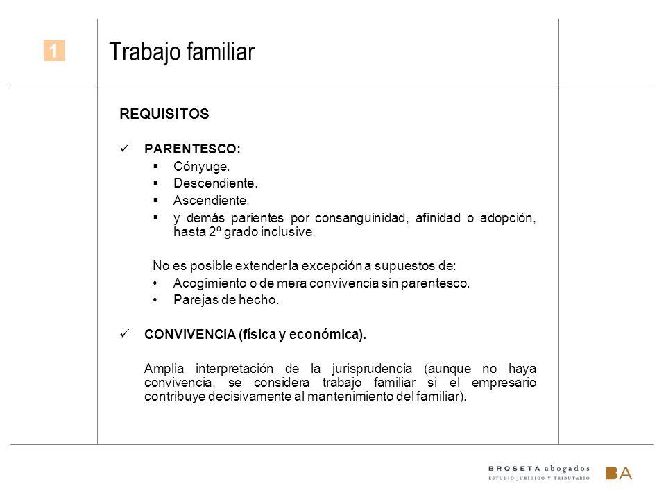 Presunción de no laboralidad (art.1.3.e ET) Exclusión declarativa.