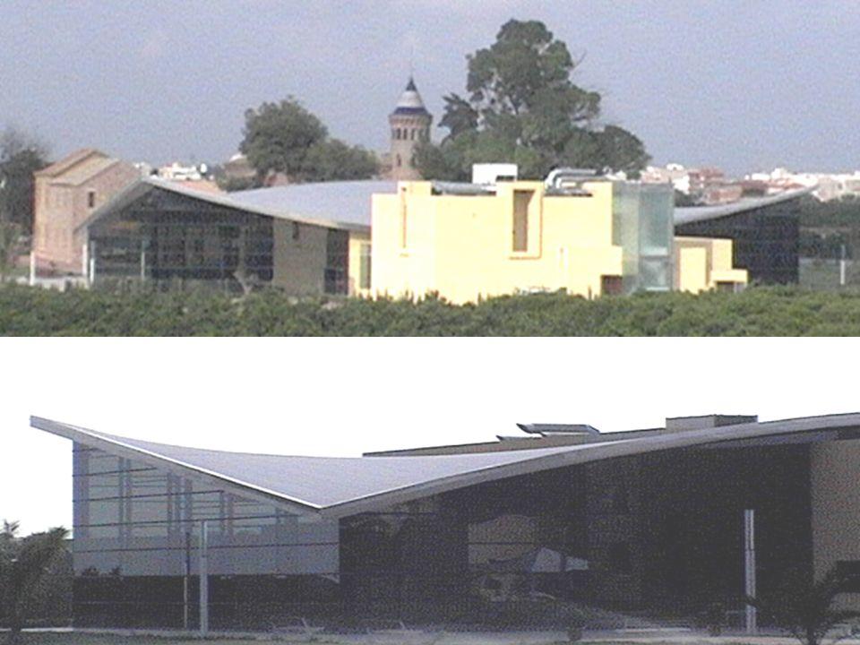 Cubierta de la oficina de Turismo de Alboraya