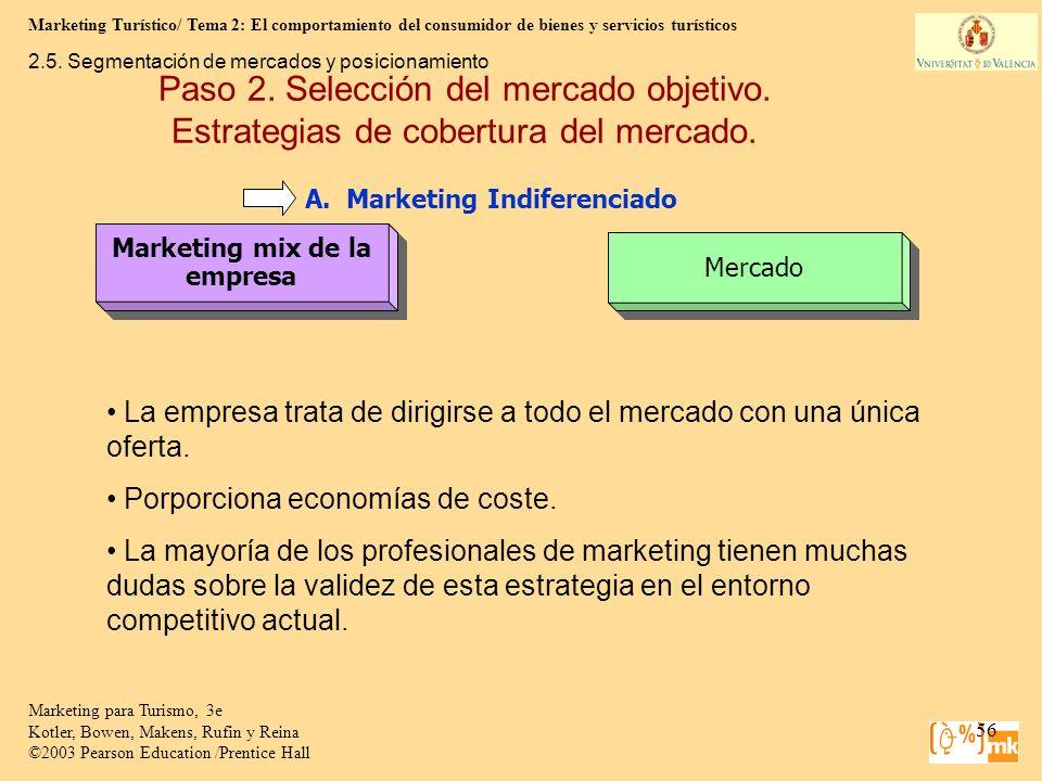 Marketing Turístico/ Tema 2: El comportamiento del consumidor de bienes y servicios turísticos 56 Marketing para Turismo, 3e Kotler, Bowen, Makens, Ru