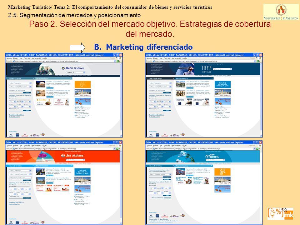 Marketing Turístico/ Tema 2: El comportamiento del consumidor de bienes y servicios turísticos 58 Marketing para Turismo, 3e Kotler, Bowen, Makens, Ru