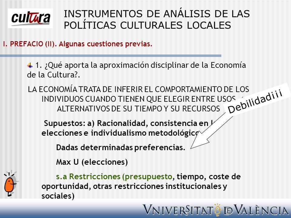 Bibliografía Cuadrado, M., Berenguer, G.(2002): El consumo de servicios culturales.