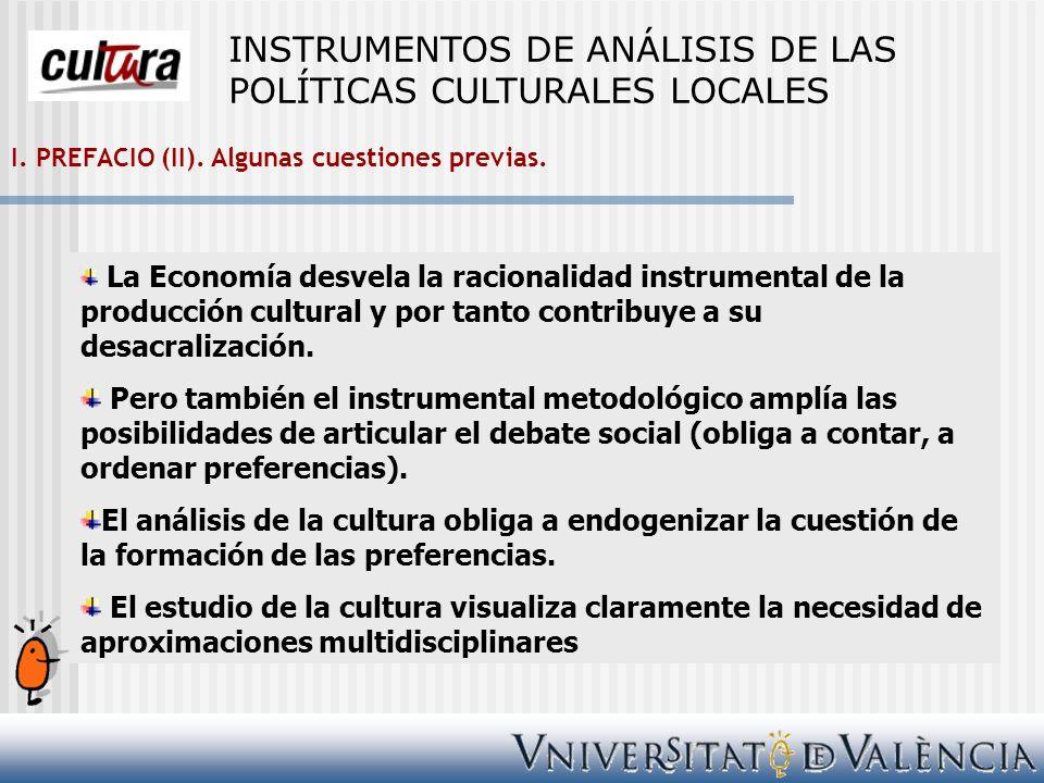 II.CULTURA Y TERRITORIO. B. Cultura y crecimiento económico.