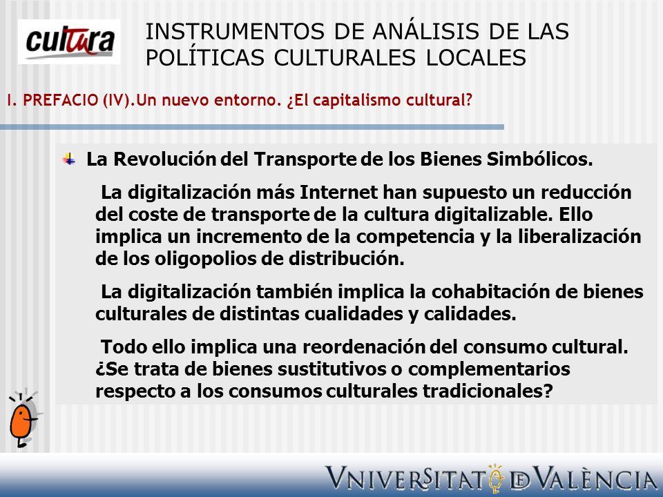 III. El TAMAÑO IMPORTA. INSTRUMENTOS DE ANÁLISIS DE LAS POLÍTICAS CULTURALES LOCALES