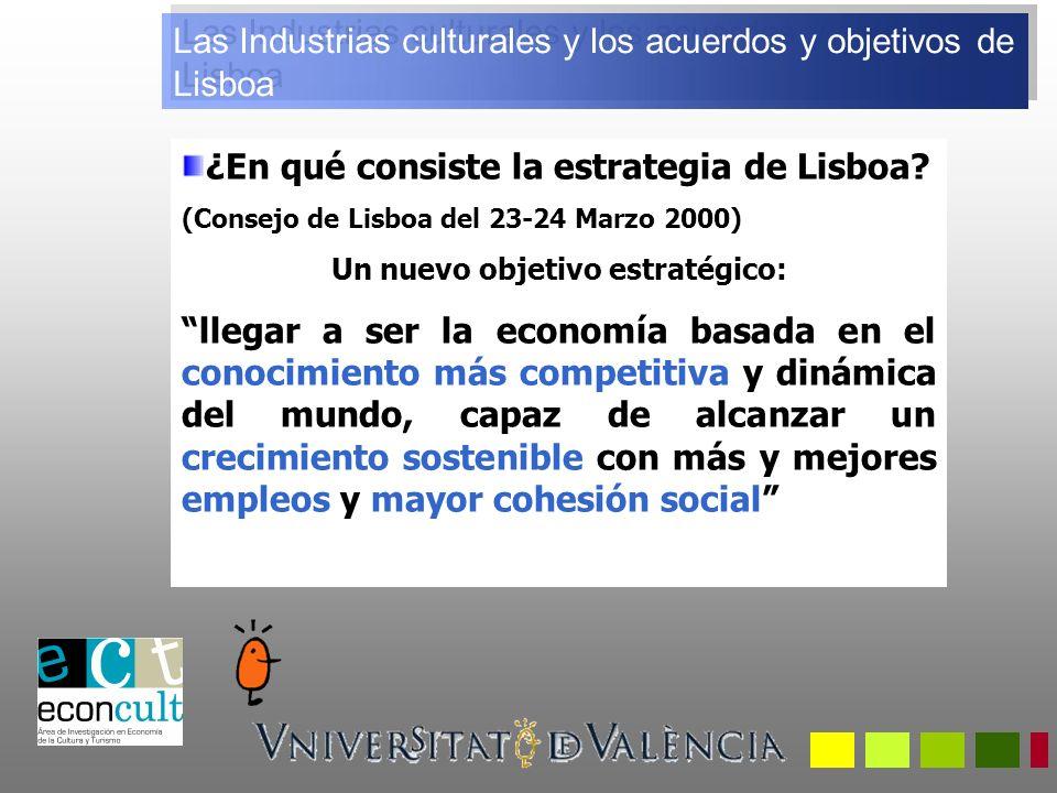 ¿En qué consiste la estrategia de Lisboa.
