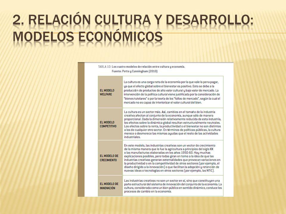Las implicaciones en términos de políticas culturales son muy diversas.